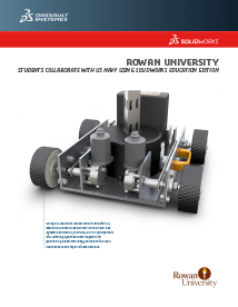 SOLIDWORKS Case Study Rowan University